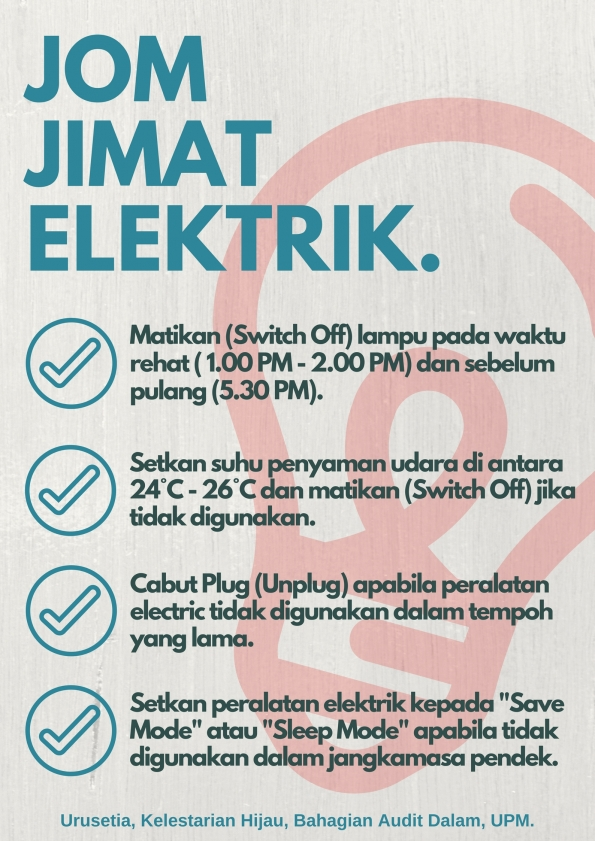 ENERGY, LET'S SAVE IT